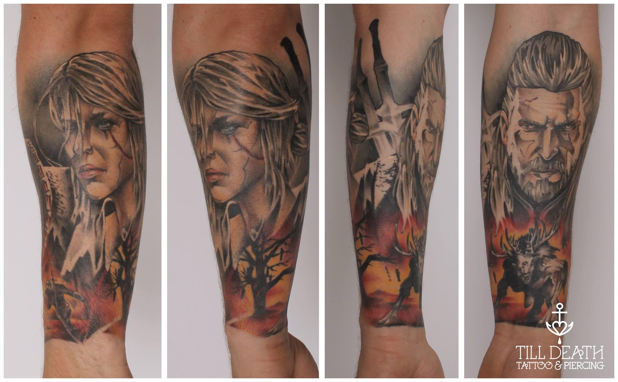 Przemek Till Death Tattoo Toruń Kopernik Dziarałby Się U